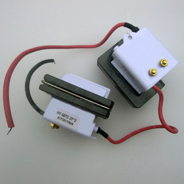 US $30 0 |Laser high voltage coil high voltage flyback transformer FBT for  reci laser power supply 80W 90W dy10-in Woodworking Machinery Parts from