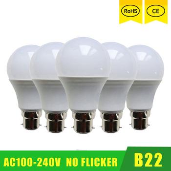 5 sztuk partia hurtownie lampa Led SMD 2835 3W 6W 9W 12W 15W 21W LED żarówki 110V 220V 230V 240V LED b22 zimny biały ciepły biały LED lights tanie i dobre opinie haotiancheng CN (pochodzenie) Zimny biały (5500-7000 k) SALON 100-240V 1000-1999 lumenów ball-bulb 50000 Żarówka bańka