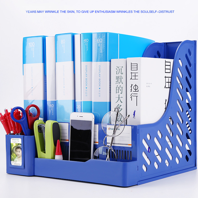 Studens Fashion Stationery Holders Study Supplies Back To School Large Capacity Stationery Set Plastic Office&School Supplies
