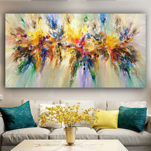 RELIABLI ART Colorful Pictures Abstract Wall Art Canvas Painting Modern Decorative Quadro For Living Room