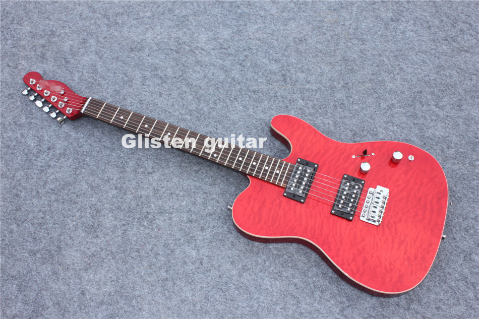 New arrival red  Electric Guitar, maple top, bolt in new arrival red electric guitar maple top bolt in