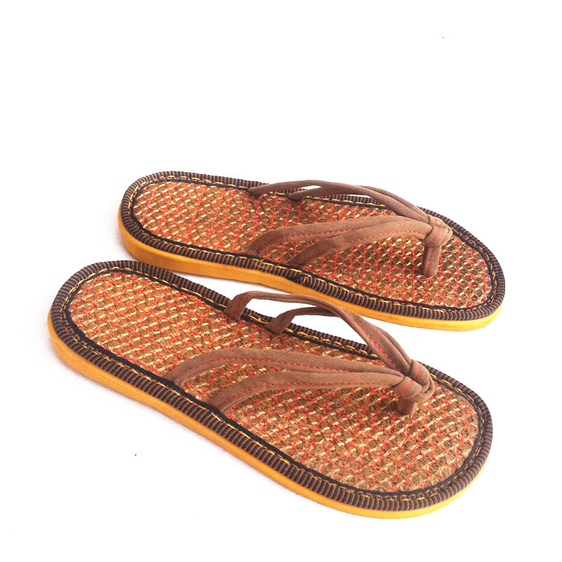 a04e566f5bb82b Fashion Palm Men Shoes Breathable Summer Home Slippers For Men Flip Flops  Men s Sandals Beach Shoes High Quality Shoes 2016 Mens-in Slippers from  Shoes on ...