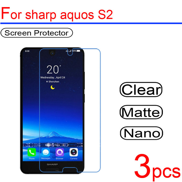 US $1 26 9% OFF|3pcs ultra clear Soft LCD Screen Protectors film guard  Cover For sharp Aquos S2 S3 Xx3 shv34 sh 04h 506SH Protective Film-in Phone