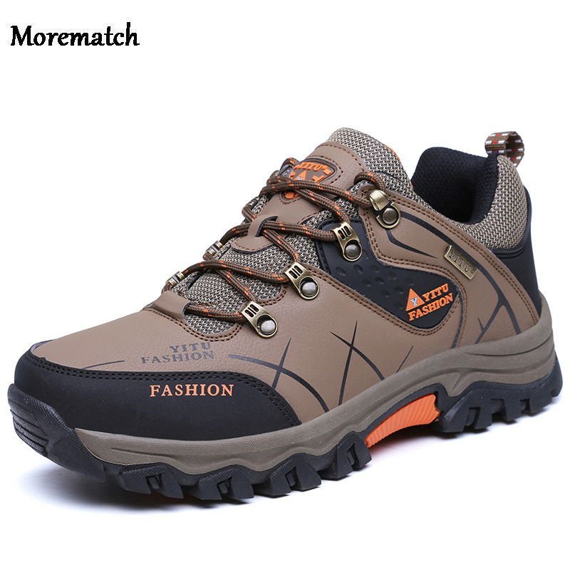 Outdoor Sports Men Hiking shoes Millitary Tactical Shoes Non-slip Breathable Waterproof Hiking Boots Hunting Shoes image