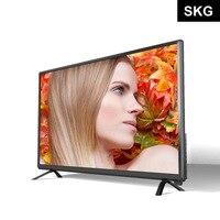 Оптовая продажа подсветка FHD Интернет ТВ 32 40 43 46 50 55 дюйма Смарт светодиодный HD ЖК ТВ телевидения