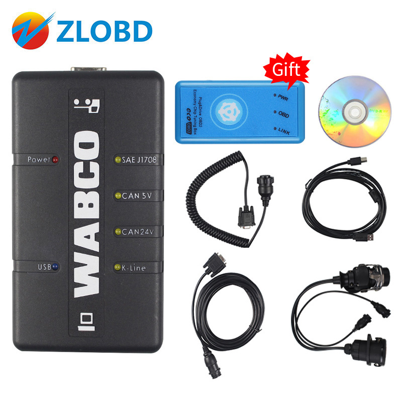 Newly WABCO DIAGNOSTIC KIT (WDI) WABCO Trailer and Truck Diagnostic Interface Shipping Free(China)