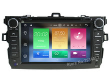 FOR TOYOTA COROLLA 2007-2012 Android 8.0 Car DVD player Octa-Core(8Core) 4G RAM 1080P 32GB ROM WIFI gps head device unit stereo