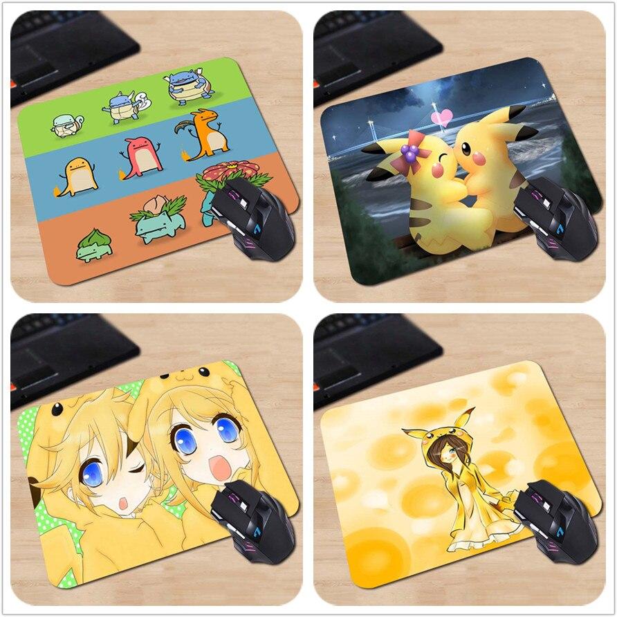 SıCAK SATıŞ Kalınlaşmak Oyun Rahat Karikatür Anime Pika Mouse Pad Ücretsiz Kargo