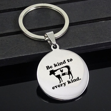 Be Kind To Every Kind. pendant necklace