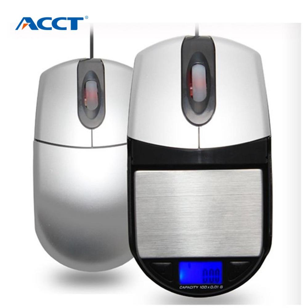 500 g * 0,1 g bilancia tascabile digitale bilance bilance mini bilance elettroniche per la funzione del mouse reale in oro