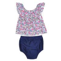 2Pcs Set Baby Girls Suit Summer Girls Clothing Set Sleeveless Cotton Children Toddler Kids Clothing Casual