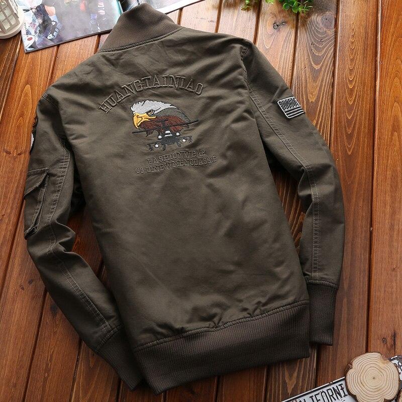 f8b1af24852 Qualité Hommes vert Militaire Fit Aigle Marque Vêtements Haute Veste jaune  Slim Et Nouvelle Vestes Tendance 4xl Noir De Tactique Mode ...