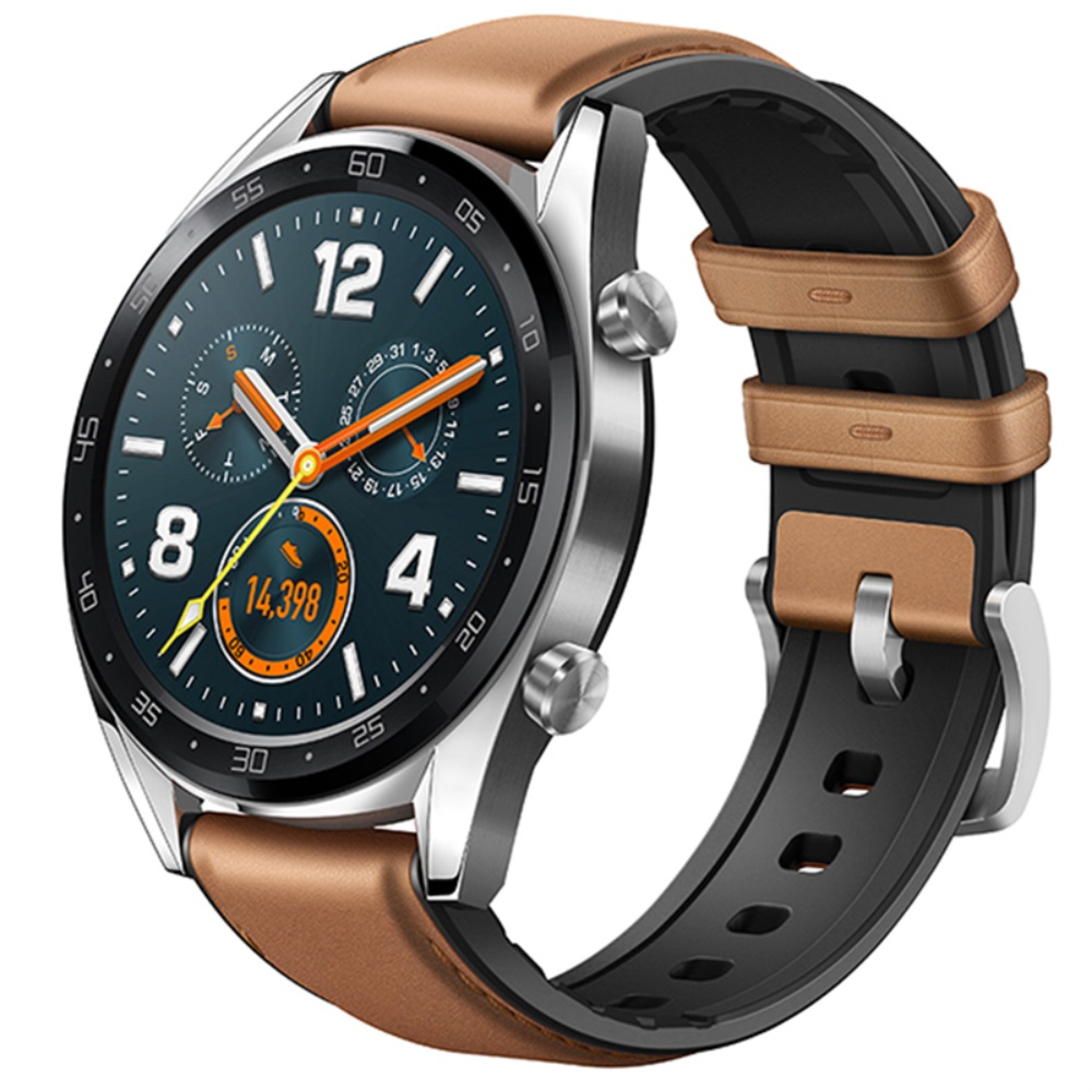 2in1 Leather Silicone Bracelet For Huawei Watch GT Strap For Honor Watch Magic 22mm Straps Smart Watch Band For Samsung Gear S3