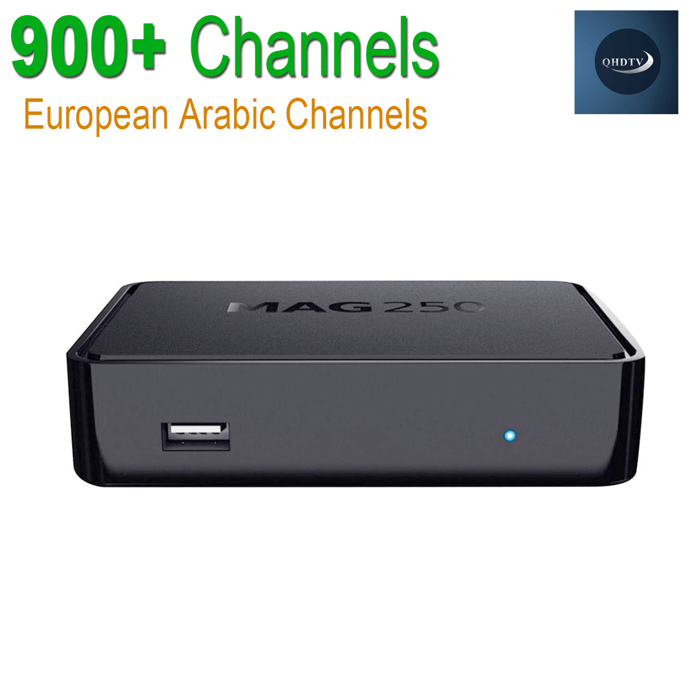 ФОТО MAG 250 IPTV Box Linux OTT Set Top Box MAG250 Stability With QHDTV 900+Live TV Channels Arabic French Sky Italy Europe IPTV Box