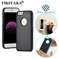 New Antigravity TPU Frame For iPhone 5 5s SE 6 6S Plus Case Magical Anti gravity Nano Suction Cover Adsorbed Car Hard Case Shell