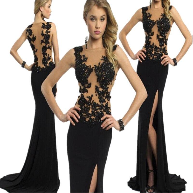 Kleid mit schlitz an der seite – Modische Kleider beliebt in Deutschland