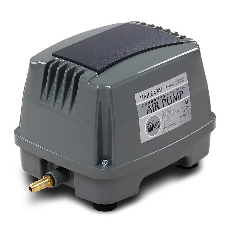 45 w 60l/min hiblow 수족관 물고기 탱크 정화조 산소 공기 펌프 아쿠아 공기 송풍기 수경 연못/해산물 수영장 공기 압축기-에서공기 펌프 & 액세서리부터 홈 & 가든 의  그룹 1