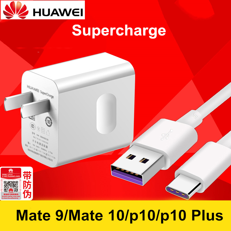 Huawei P10 Lite Charger Mate 10 9 Mobile Phone Supercharge