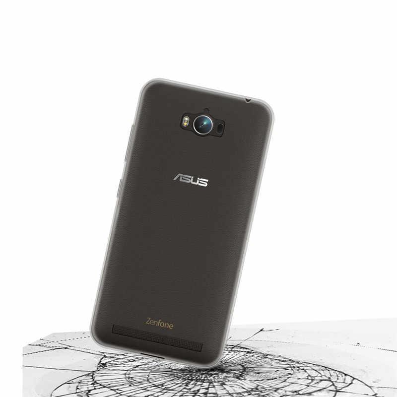 """رقيقة جدا شفافة لينة واضحة جل تي بي يو جراب إيسوز ZenFone ماكس برو ZC550KL 5.5 """"الوفير قضية الهاتف الغطاء الخلفي سيليكون الجلد"""