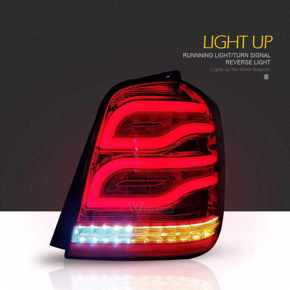 Aliexpress Buy Tail Lights For Toyota Highlander Kluger 2001. Aliexpress Buy Tail Lights For Toyota Highlander Kluger 2001 2007 Led Strip Rear L With Drlreversesignal From Reliable Light. Toyota. 2001 Toyota Highlander Tail Light Wiring At Scoala.co