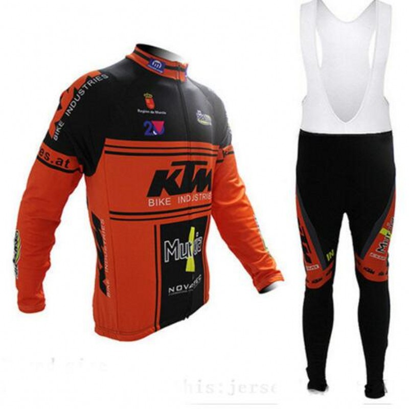 KTM Winter thermal fleece cycling jersey ropa ciclismo invierno hombre sport mtb bike winter cycling clothing bicycle men style tinkoff saxo bank cycling jersey ropa clismo hombre abbigliamento ciclismo men s cycling clothing mtb bike maillot ciclismo d001