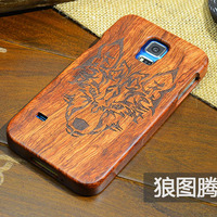 Luxury Real Genuine Palisander Rosewood Case For Samsung Galaxy S5 S 5 I9600 By Fashion Wooden