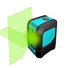 L12G Vert 2 Point Laser Professionnel Horizontal et Vertical pour Niveau Laser Auto-Nivellement Croix-Ligne Laser
