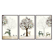 Factory wholesale (No Framed) Elk series poster Canvas Print On Canvas Printing Wall Pictures 12YM-A-689(China)