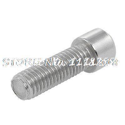 5 Pcs 3/8 x 1 5/16 Thread Hex Socket Cap Bolts Screws ksol m6 x 70mm threaded 1mm pitch hex socket head cap screws bolts 5 pcs
