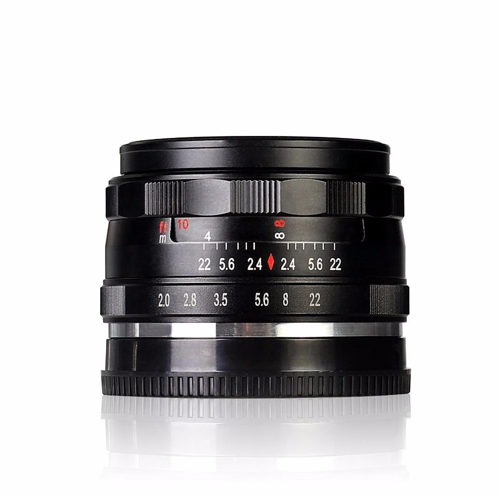 Meike MK-N-50-2.0 50mm f2.0 Large Aperture Manual Focus lens APS-C For Nikon 1 mount mirrorless camera V1 J1 50mm f2 0 aperture manual focus lens aps c for eosm nikon1 m43 sony e mount nex3 5t 6 7 a5000 a6000 a6300 fuji xt1 camera