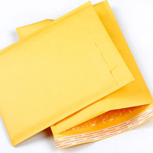 10pcs/lots Bubble Mailers Padded Envelopes Packaging Shipping Bags Kraft Bubble Mailing Envelope Bags (130*230mm)