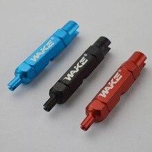 Велосипедный ключ с двойной головкой, инструмент для демонтажа клапанов, многофункциональный инструмент для демонтажа клапанов