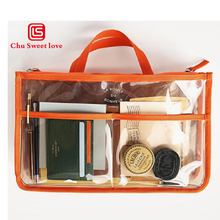 PVC multi-functional cosmetic bag transparent waterproof storage new creative wash you will like the goods