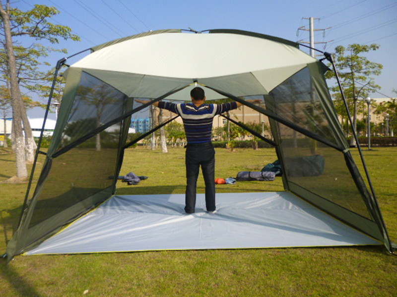 Large Tent Gazebo Camping Shelter Beach Outdoor Family Garden Party