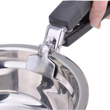 Arrival Kitchen Tool Clamps Multifunction Stainless Steel Bowl Clip Handheld Anti-Scald Plate Holder Microwave Ovenjjps(China)
