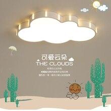 ใหม่ไฟLEDเพดานLEDบางเฉียบเด็กStudy Roomรีโมทคอนโทรลโคมไฟเพดานโมเดิร์นโคมไฟplafonnier LED avize luster