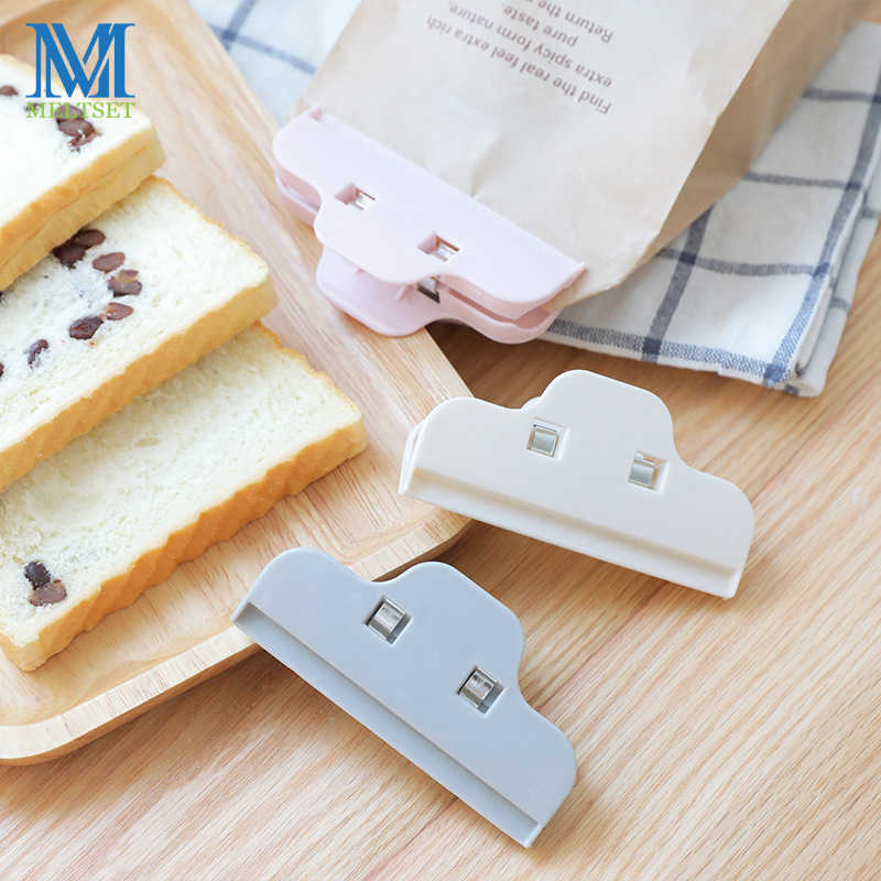 3 PCS/lot Household Sealing Bag Clips For Bread Snack Seal Storage Outdoor Camp Food Bag Sealer Tool Home Food Close Clip