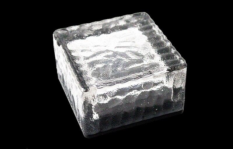 da telha do gelo luzes decorativas solares exteriores