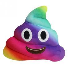 Cute Poop Emoji Smiley toy Cushion Pillow Kawaii Stuffed Plush Toy Doll Face Home Sofa Office Decor Gift Children