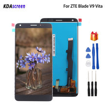 Original For ZTE Blade V9 Vita LCD Display Touch Screen Digitizer For ZTE Blade V9 Vita Screen LCD Display Phone Parts for zte blade a520 lcd display touch screen mobile phone lcd display for zte blade a520 repair kit free too
