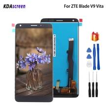 الأصلي ل ZTE شفرة V9 فيتا شاشة الكريستال السائل محول الأرقام بشاشة تعمل بلمس ل ZTE شفرة V9 فيتا شاشة عرض LCD الهاتف أجزاء