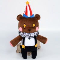 2016 Love Live Plush Doll Awakened Circus Small Bear Plush Doll Circus Toy 45cm With Hat