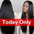 Brazilian Virgin Hair Straight Unprocessed Virgin Brazilian Straight 3Pcs/lot Cheap Human Hair Extensions Rosa Hair Products
