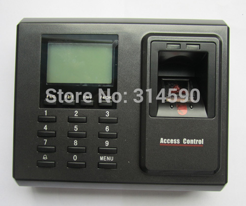 Free shping By DHL 125Khz Rfid card & fingerprint access control with keypad, ZK fingerprint and card access control system