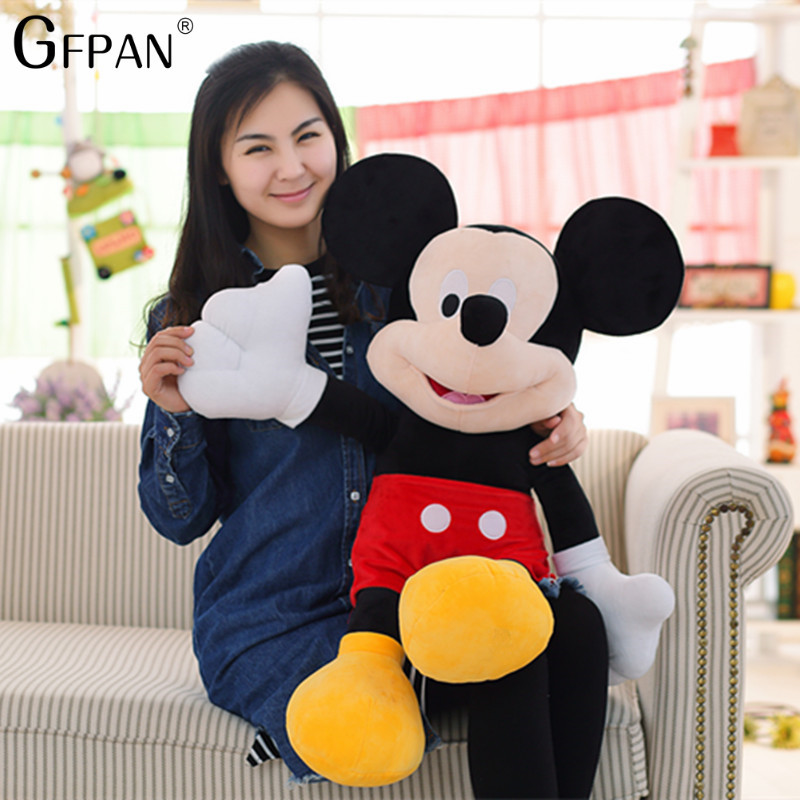 GFPAN  New Arrival 50CM High Quality Mickey & Minnie Mouse Plush Toys  Stuffed Cute Cartoon Animal Dolls Christmas Gift For KidsGFPAN  New Arrival 50CM High Quality Mickey & Minnie Mouse Plush Toys  Stuffed Cute Cartoon Animal Dolls Christmas Gift For Kids