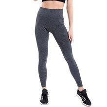 5645158afdae51 Fashion Women Sportswear High Waist Ribbed Leggings Sporty Leggings Wide  Women Bodycon Trousers Ladies Slim Skinny Pencil Pants