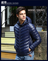 2016/ Free shipping parkas for men winter 2016 coat Hotsale jacket duck Slim fashion large size thick men's down jacket MC283