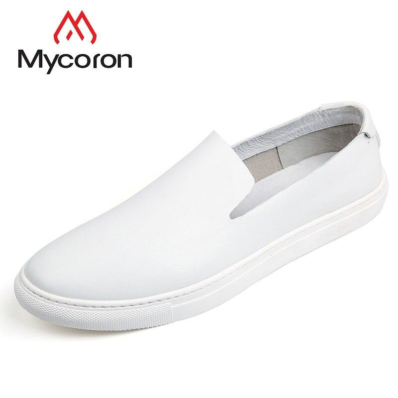 Calzado Hombre white Automne Mycoron Mocassins Chaussures Classique Annonce Non Cuir Désignation Noir Minimaliste Nouvelle La slip Hommes En wUqtUZT6