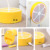 Top usb lámpara de mesa táctil 110 v-220 v luces de mesa amarillo púrpura de orange led de tres colores niño luz de lectura cama estudiante dormitorio
