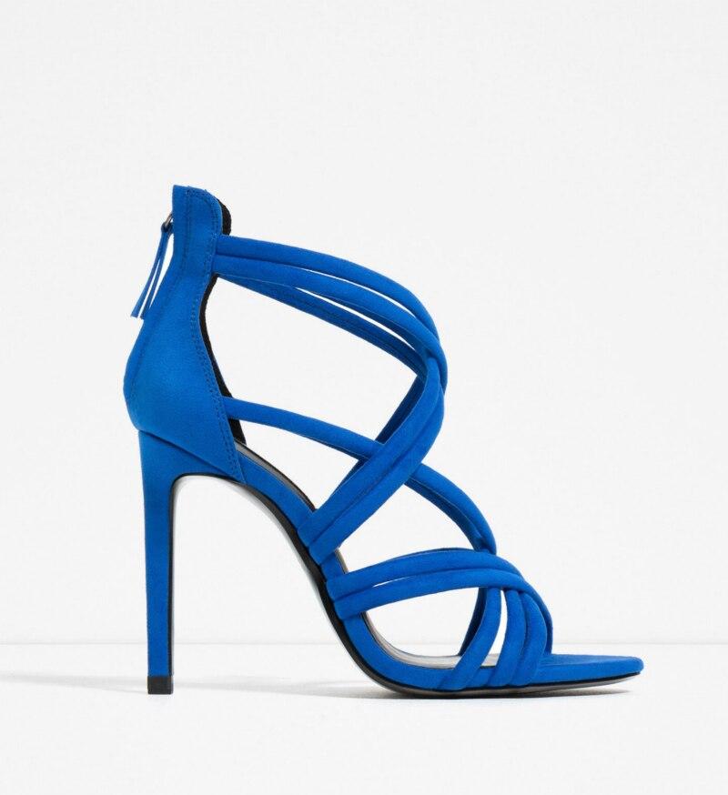 Online Buy Wholesale blue black heels from China blue black heels ...